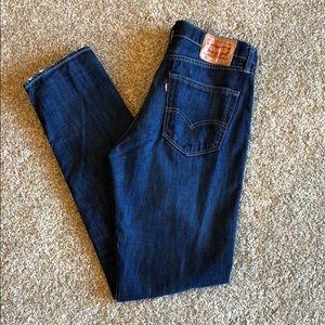 Levi's 508 Regular Taper Fit Jeans 34x34